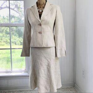 Career Feminine 💕 Two Piece Skirt Jacket Suit 2P